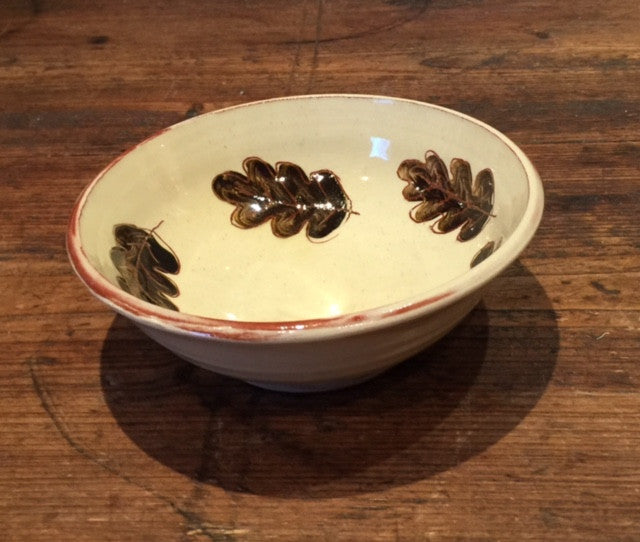 Oak Leaves Bowl  (Small)