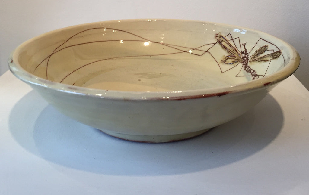Large Bowl with Daddy Long Legs