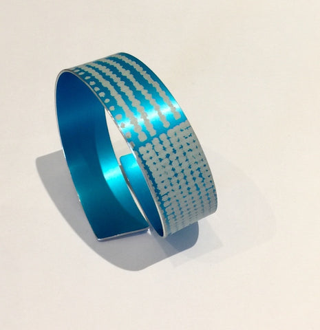 Strip Bangle (Turquoise)