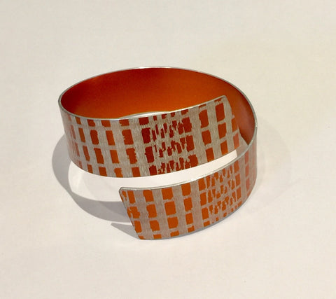 Strip Bangle (Orange)