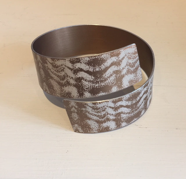 Bronze Strip Bangle