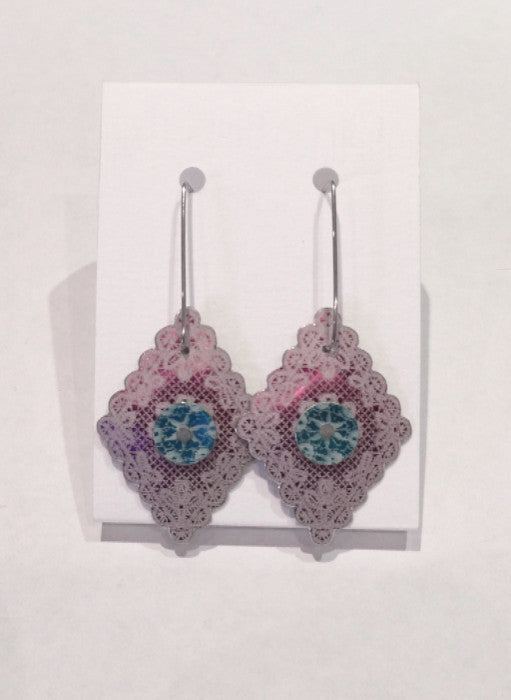 Cerise Diamond Earrings