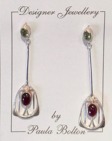 Margaret Macdonald Inspirations Long Earrings