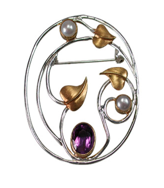 Nocturne Brooch