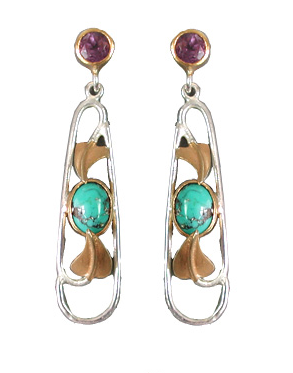 Tarantella Long Earrings