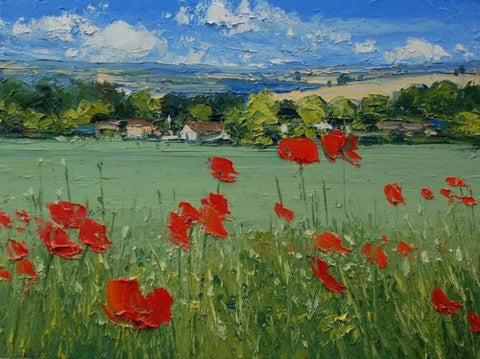 Poppies Near Giverny (Print) 2/150