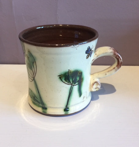 Dill and Butterflies Mug (small)