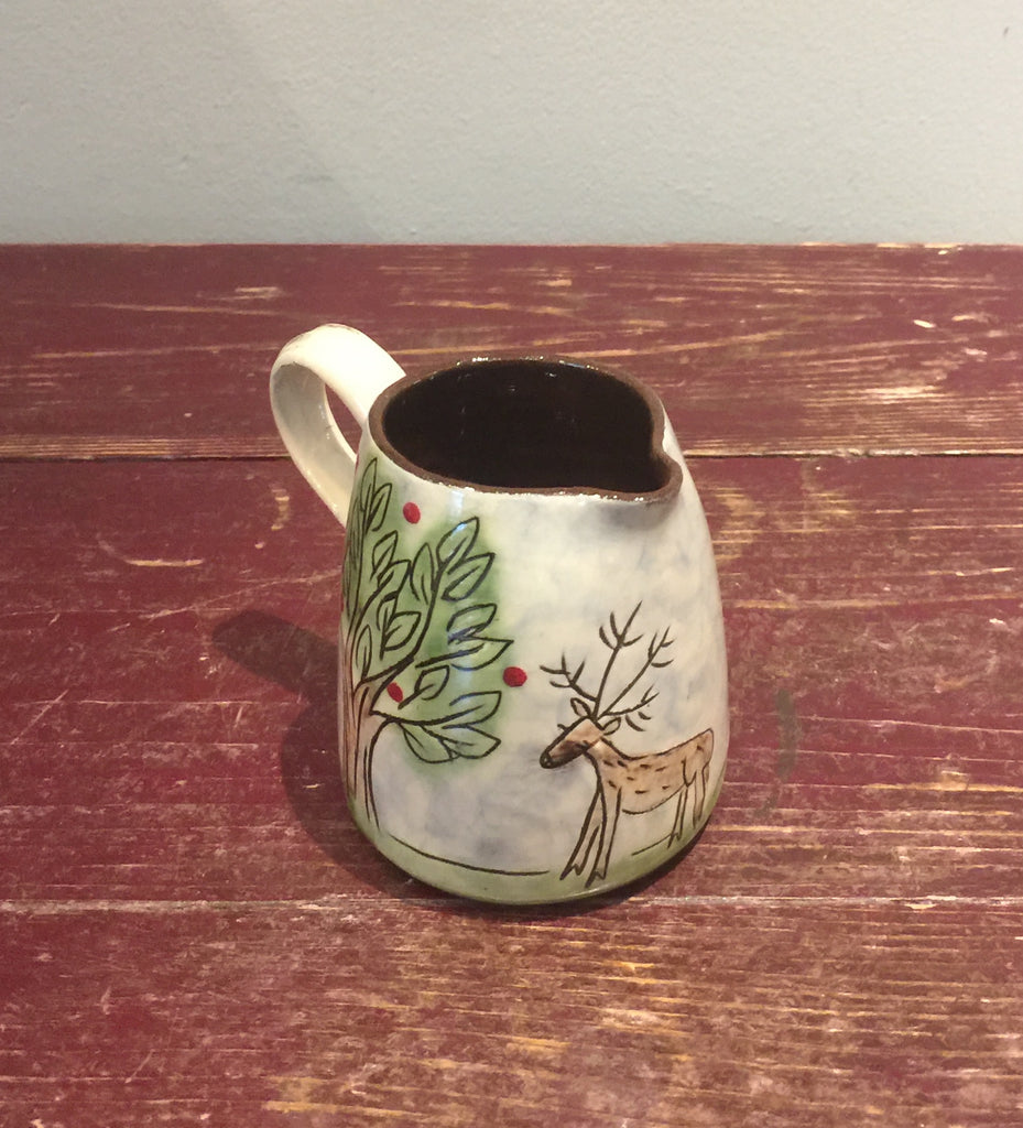 Trees Jug with Deer (Small)