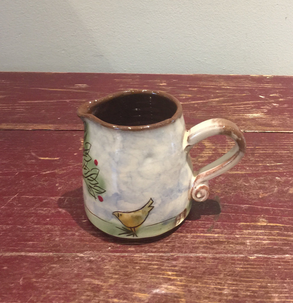 Trees Jug with Bird (Small)