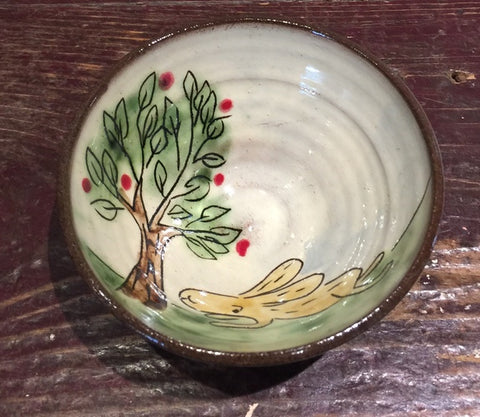 Landscape with Hare Mini Bowl 1