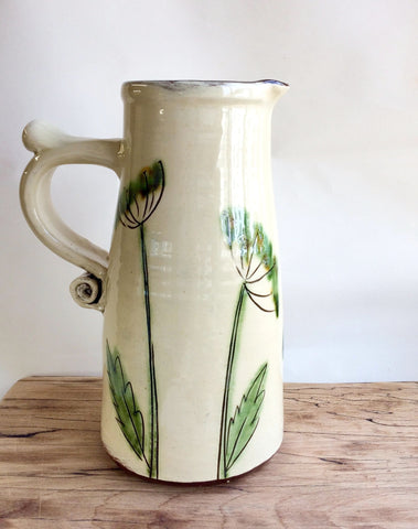 Dill & Butterfly Jug (large)