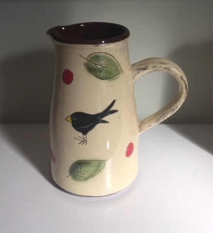 Blackbird Medium Jug (standard handle)