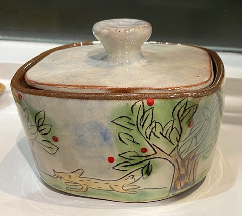 Woodland Butter Dish (Small)