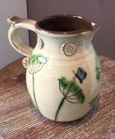 Dill & Butterflies Jug (medium)