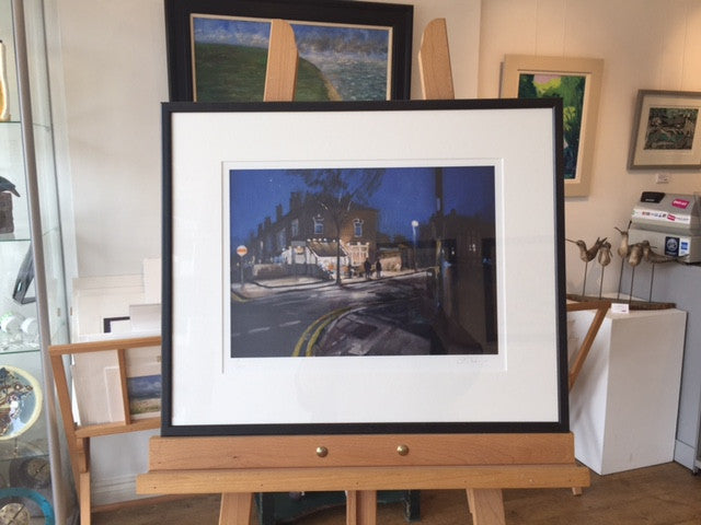 Rowheath Road (Framed Print) 4/150