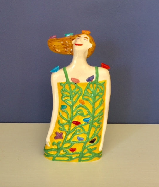 Sunflower Yellow - Dreaming of Birds Figure (Small)