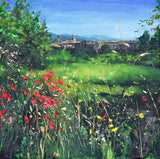 Poppies and Grasses, Lourmarin