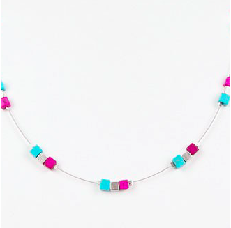 Geo Trio Necklace (Cool)