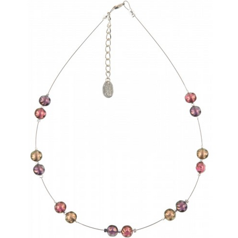 Neptune Necklace (Rose shades)