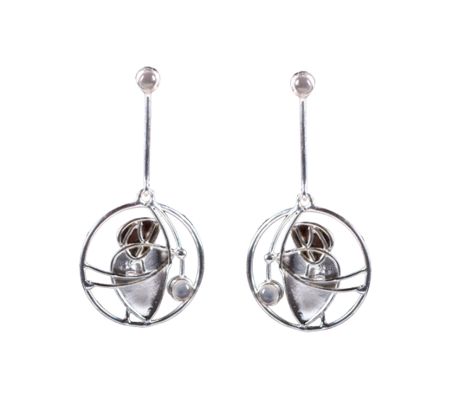 Mackintosh Moonstone Earrings