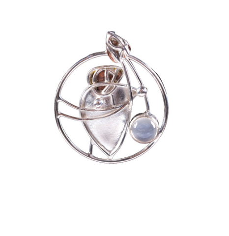 Mackintosh Moonstone Pendant