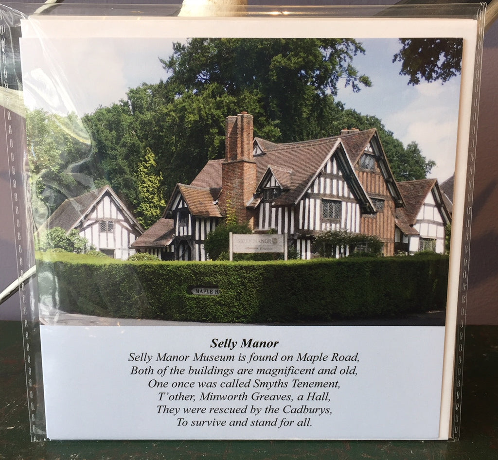 Selly Manor (card)