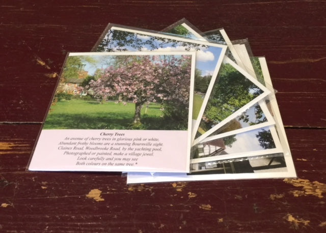 Bournville (pack of six cards)