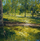 Sunlight Through the Trees, Cotteridge Park (Giclee Print) 5/150