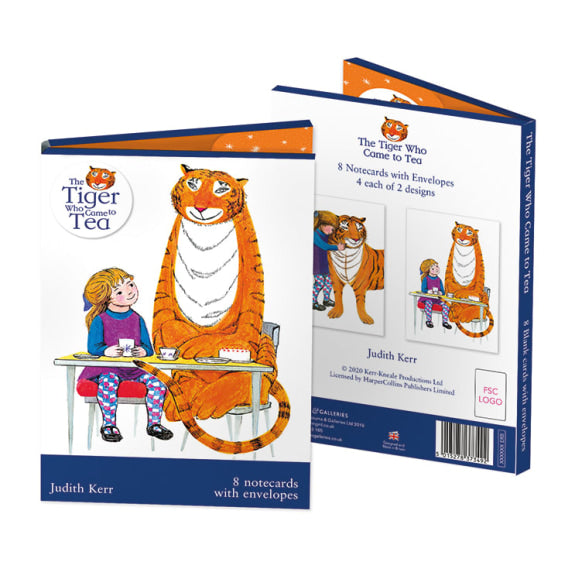 The Tiger Who Came to Tea (Notecards)