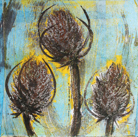Three Teasels (1/1)