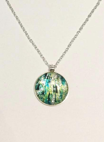 Winter Pines Pendant