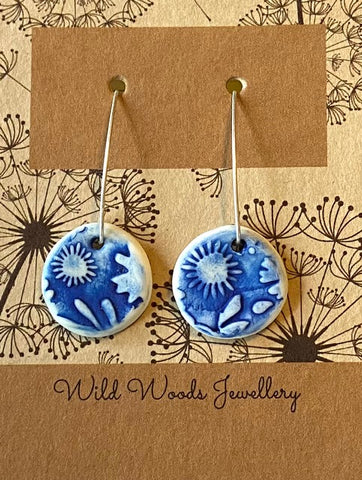 Ceramic Hook Earrings (CVLE3)