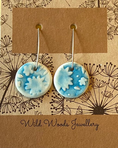 Ceramic Hook Earrings (CVLE5)
