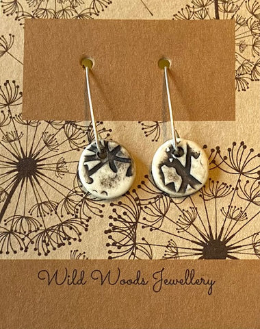 Ceramic Hook Earrings (CVSE3)