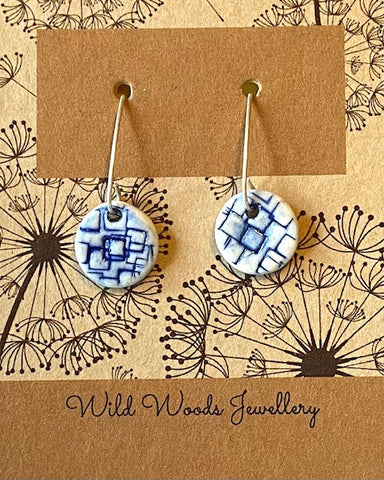 Ceramic Hook Earrings (CVSE1)