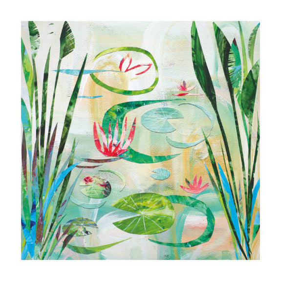 Waterlily Pond (card)