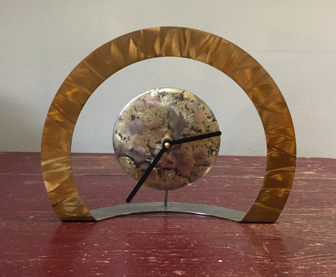 Hoop Clock (Old Gold)