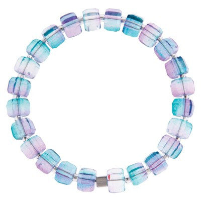 Geo Gems Bracelet (Blueberry)