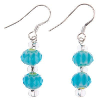 Frills Earrings (Ocean)