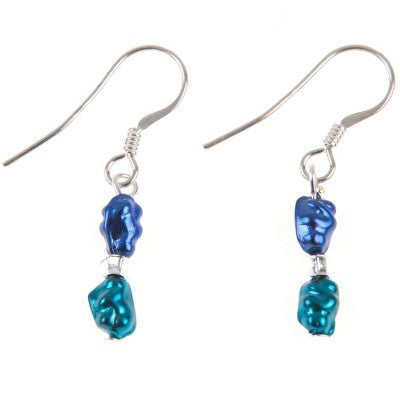 Mini Foils Earrings (Ocean)