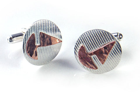 Copper Boats Cufflinks