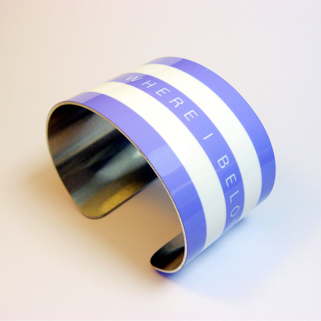 Cornish Blue Cuff