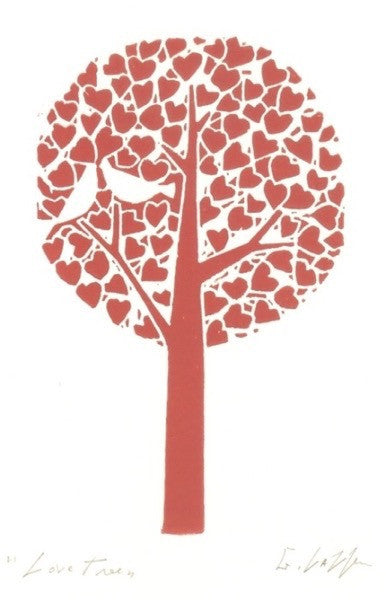 Love Tree (Red)