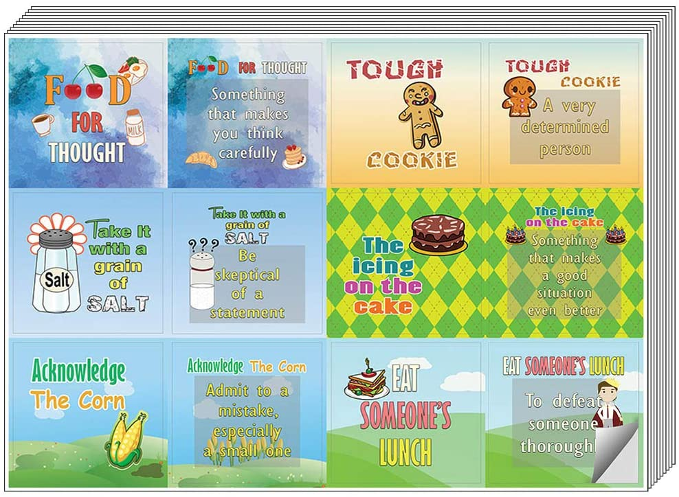 Waterproof Creanoso Geeky Sayings sticker Any Flat Surface DIY Decoration Art Decal for Boys /& Girls Unique Personalized Themes Designs 10 X 12pcs 10-Sheet Children Teens Total 120 pcs Inches Individual Small Size 2.1 x 2