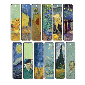 Van Gogh Bookmarks (12-Pack) - Awesome Bookmarks for Books