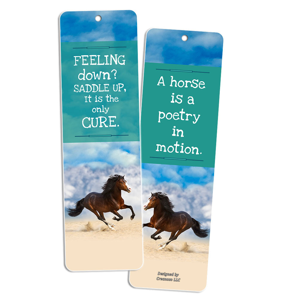Bookmarks For Books Part - 42: ... Creanoso Animal Bookmarks (10 Pack) - Dog Horse Owl Sloth Wolf Bookmarks  For Books ...