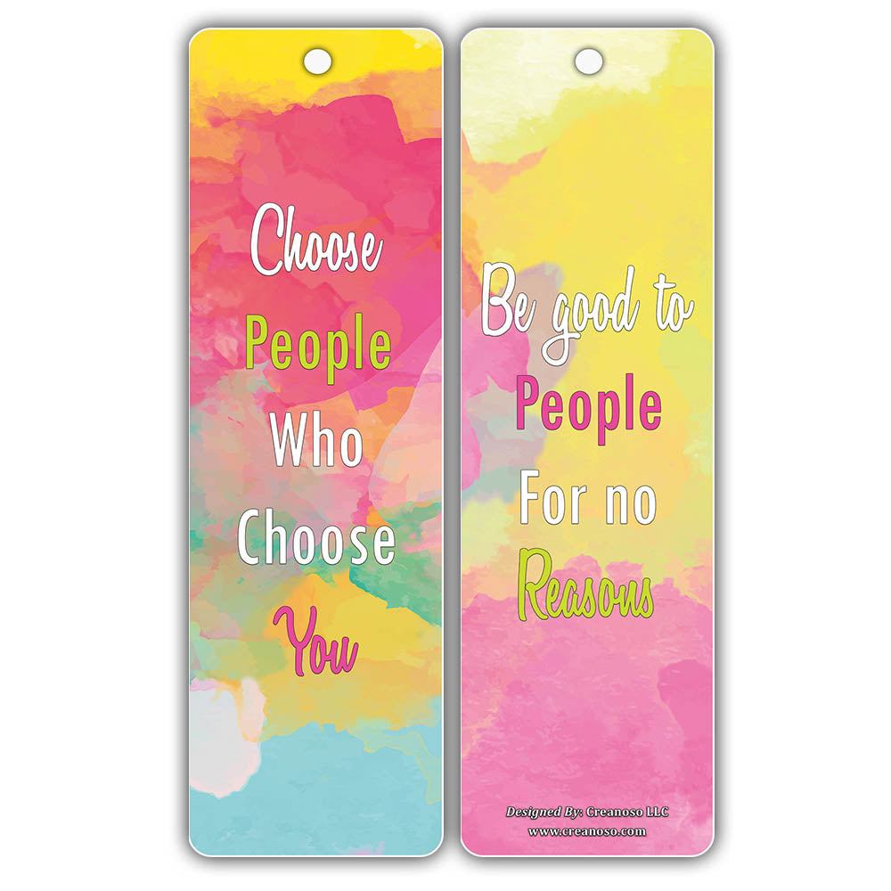 Products Bookmarks Design Inspiration And: Creanoso Happiness Life Quotes Positive Sayings Bookmark