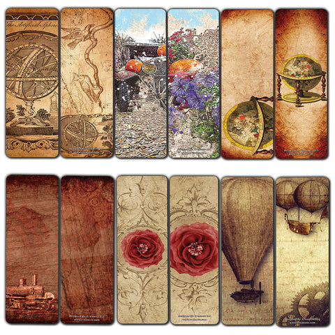 Creanoso Vintage Classic Style Bookmarks (60-Pack) - Unique timeless Bookmarks for Men, Women, Teens  Perfect Paintings gifts for Antique classic Art Paints
