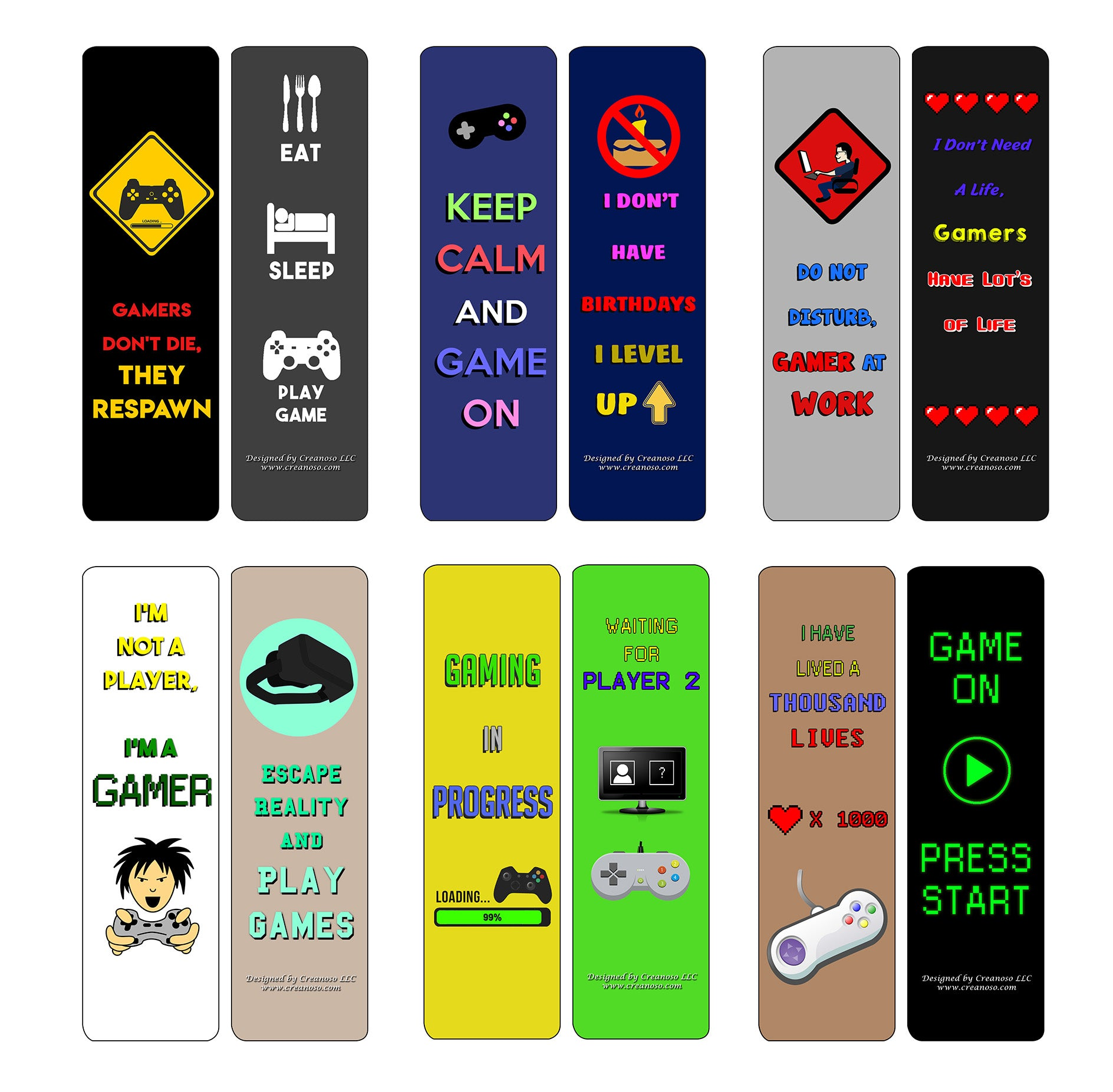 Veterans Adult Men Six Bulk Assorted Bookmarks Designs Military Giveaway Tokens Stocking Stuffers Ideas for Soldiers 12-Pack Creanoso Patriotic Army Bookmarks Premium Gift Collection Set