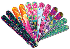 Creanoso She Believed She Could Emery Board - Handy Nail Accessories - Cool Beauty Essential